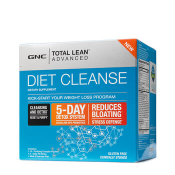 Gnc Total Lean Advanced Diet Cleanse 5 Day Detox
