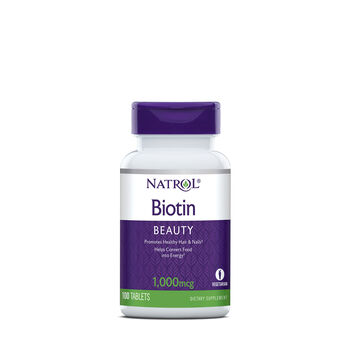 Biotin 1000 mcg | GNC