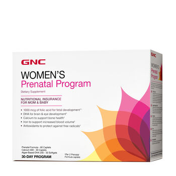 Women's Prenatal Program | GNC