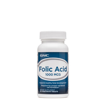 Folic Acid 1000 MCG | GNC