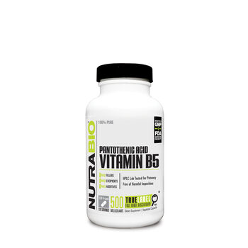 Pantothenic Acid Vitamin B5 | GNC
