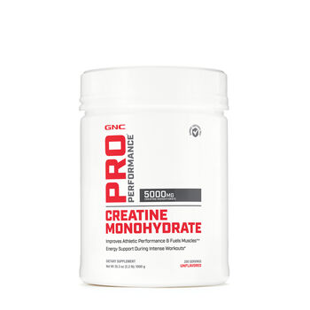 Creatine Monohydrate - Unflavored | GNC