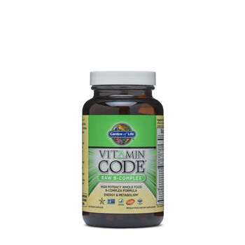 Garden Of Life Vitamin Code Raw B Complex Gnc