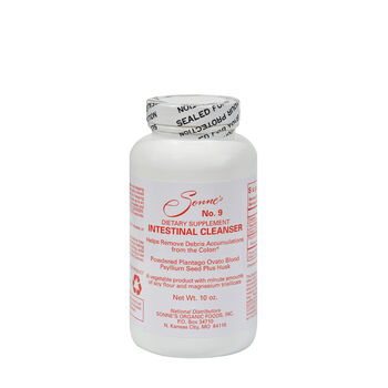 Intestinal Cleanser #9 Natural Bulking Agent | GNC