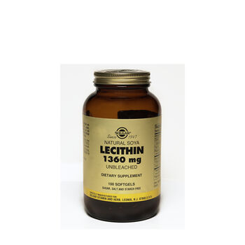 Natural Soy Lecithin 1360mg | GNC