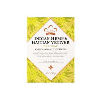Indian Hemp & Haitian Vetiver Bar Soap | GNC
