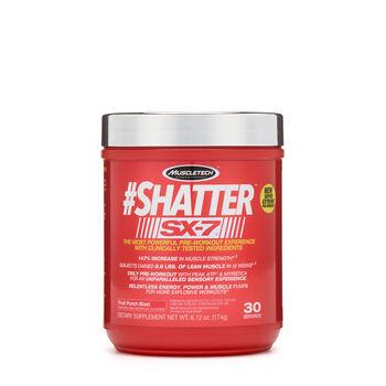 #Shatter™ SX-7™ - Fruit Punch BlastFruit Punch Blast | GNC