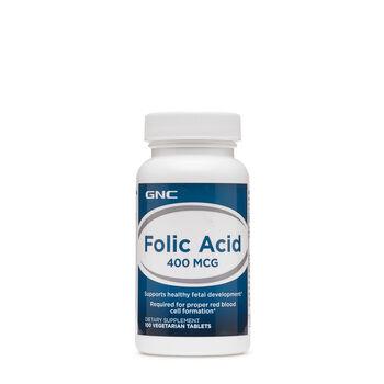 65249124c4d0a GNC Folic Acid 400mcg | GNC