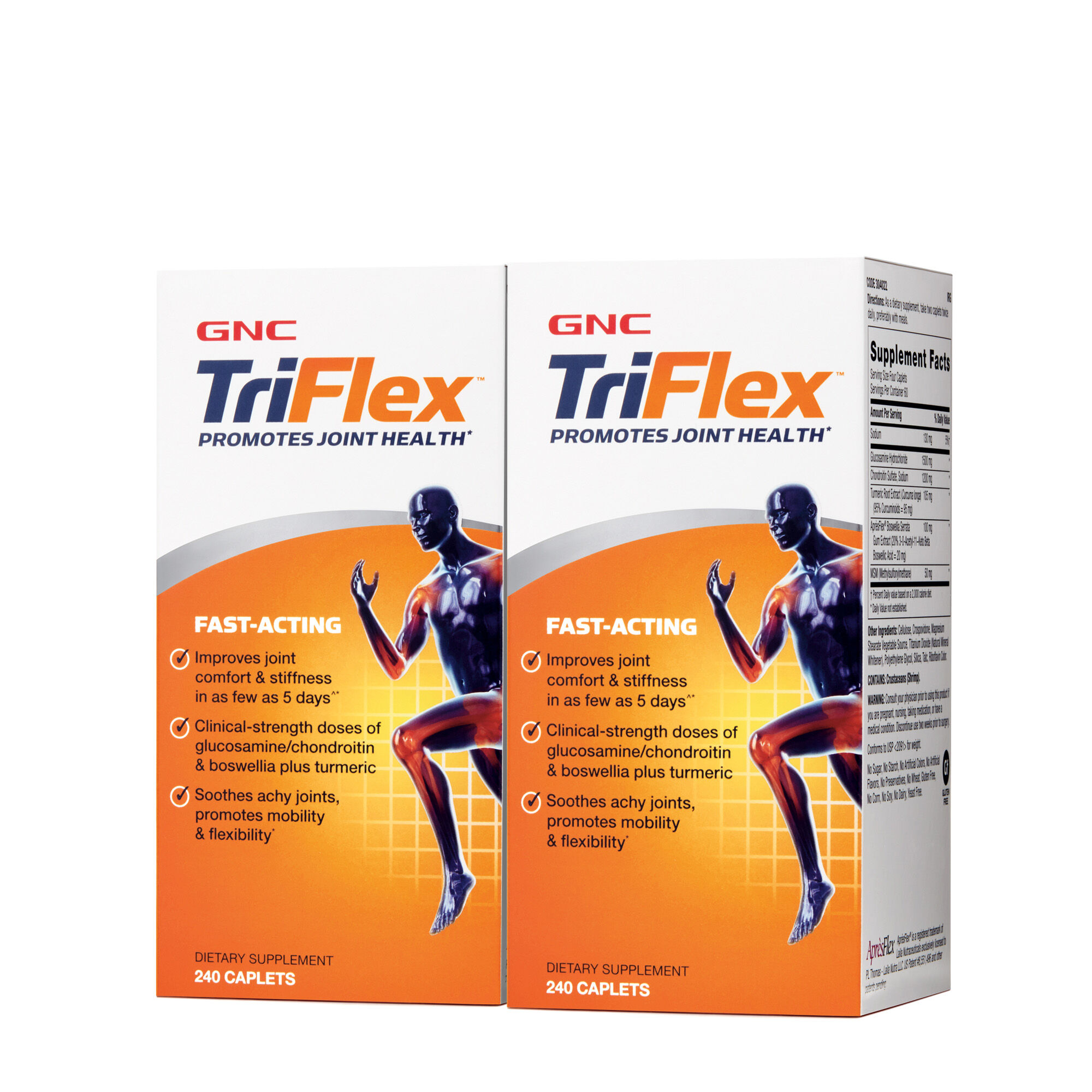 3X Triple Action Burner triflex™ fast-acting - twin pack