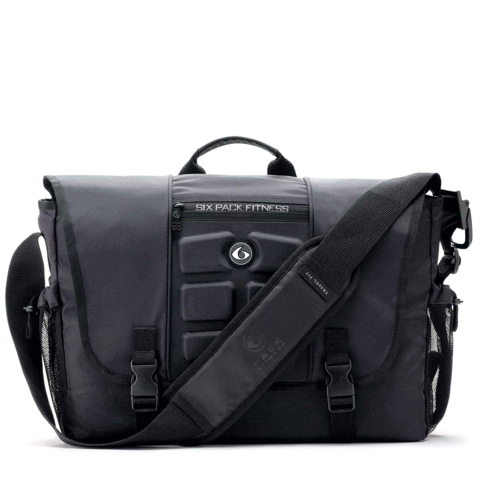 6 Pack Fitness™ Titan Messenger - Stealth   GNC