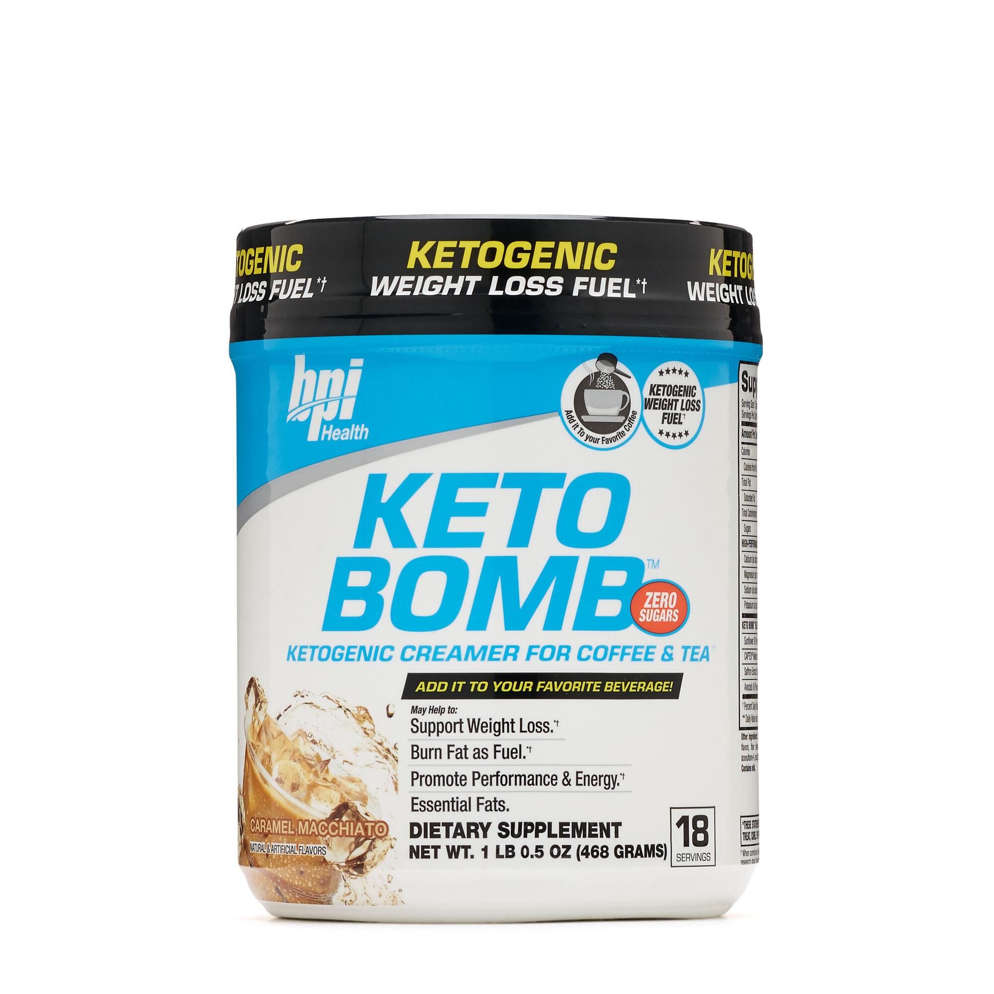 BPI SPORTS Keto Bomb™ - Caramel Macchiato   GNC
