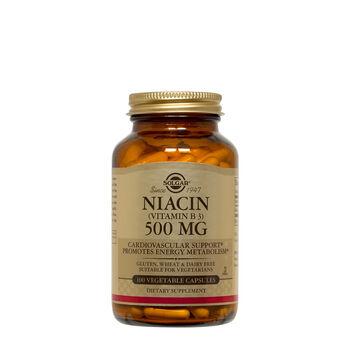 Niacin (Vitamin B3) 500 MG | GNC