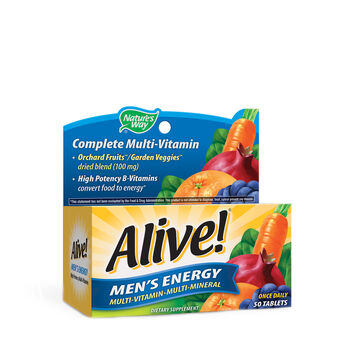Alive!® - Men's Energy | GNC