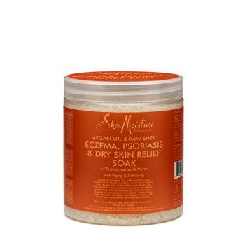 Argan Oil & Raw Shea Dead Sea Salt Muscle Relief Mineral Soak | GNC