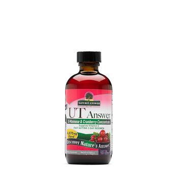UT answer™ D-Mannose & Cranberry 4,900 mg Blend | GNC