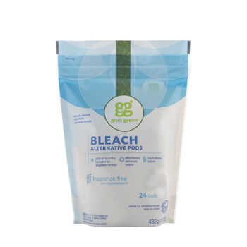 Bleach Alternative Pods - Fragrance Free   GNC