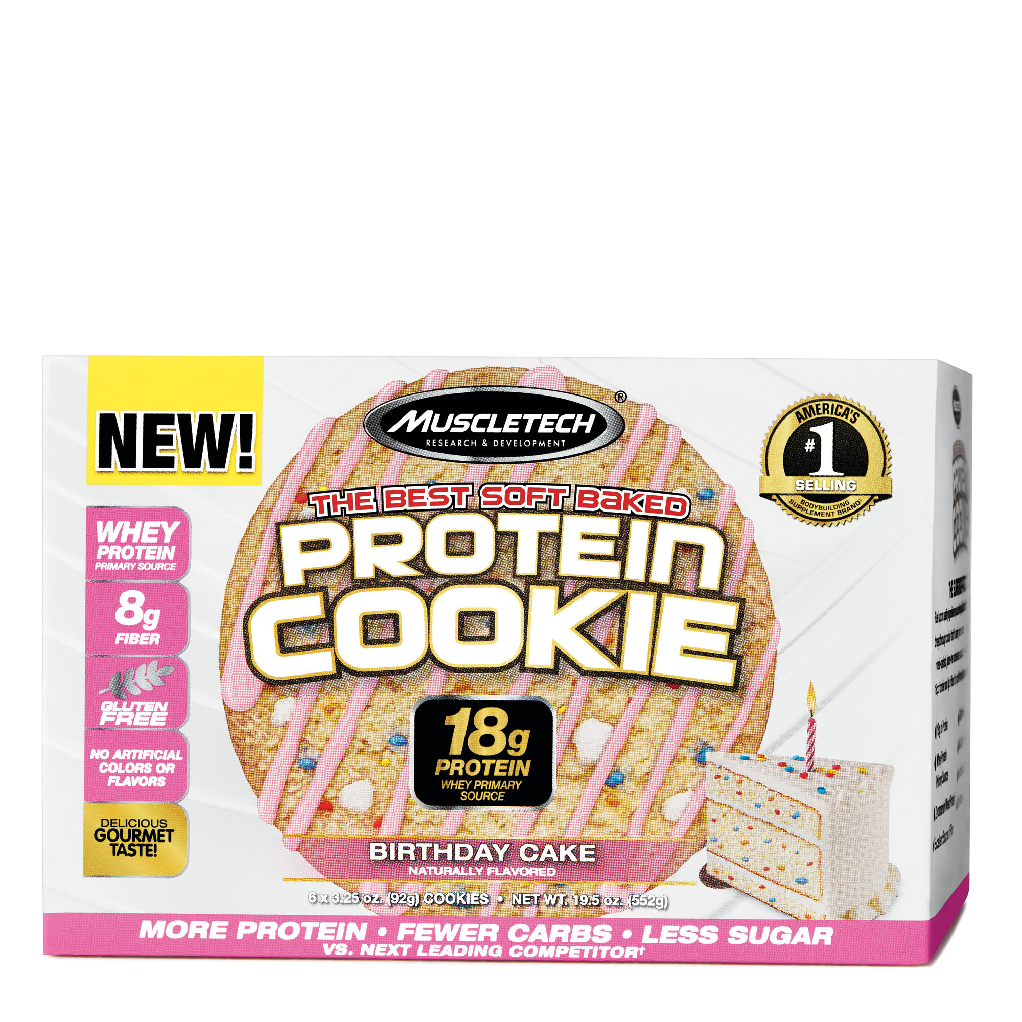 MuscleTechR Protein Cookie