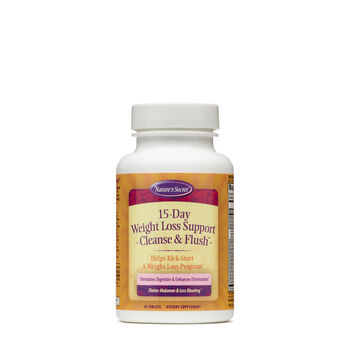 15-Day Weight Loss Cleanse & Flush®   GNC