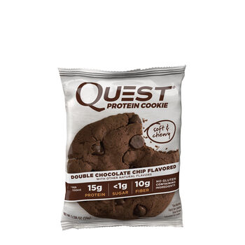 Quest® Protein Cookie - Double Chocolate ChipDouble Chocolate Chip | GNC