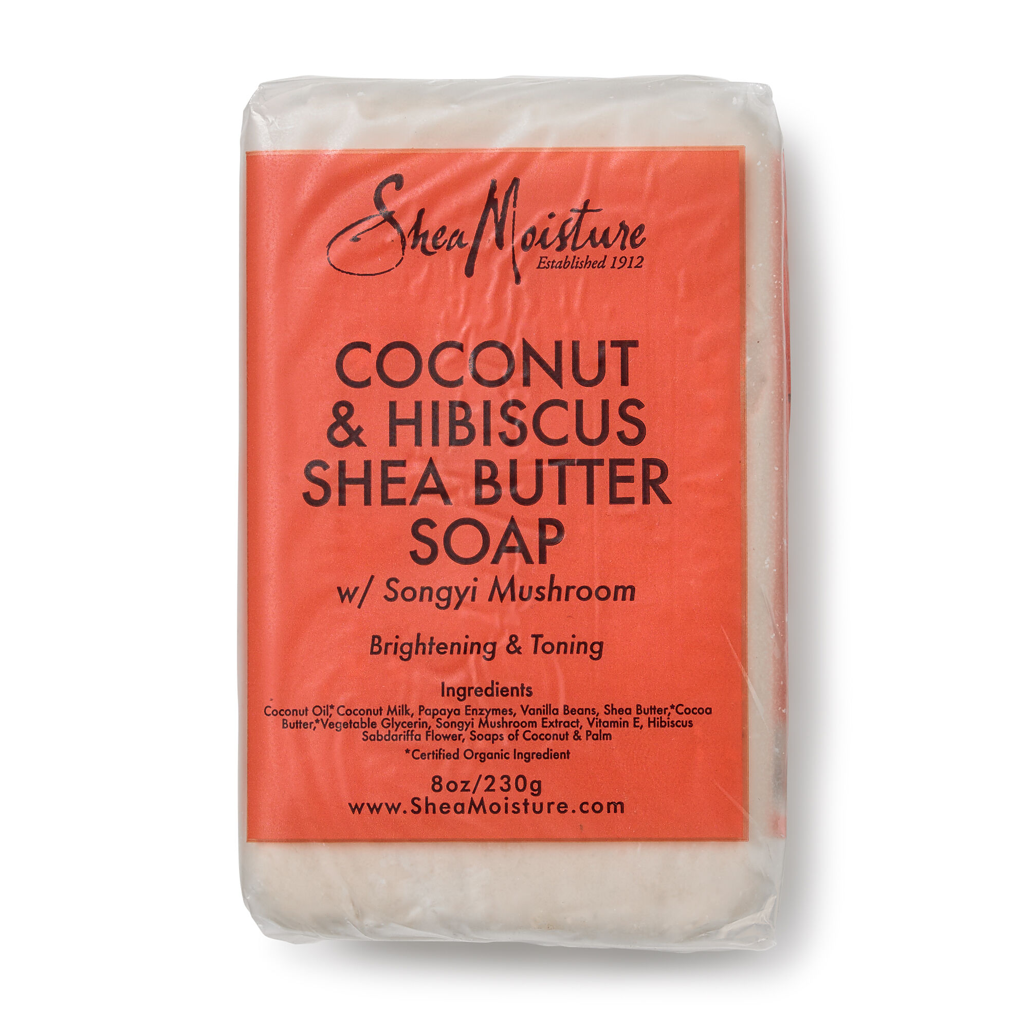 Shea Moisture Coconut Hibiscus Shea Butter Soap Gnc