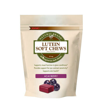 Lutein Soft Chews- Acai Berry | GNC