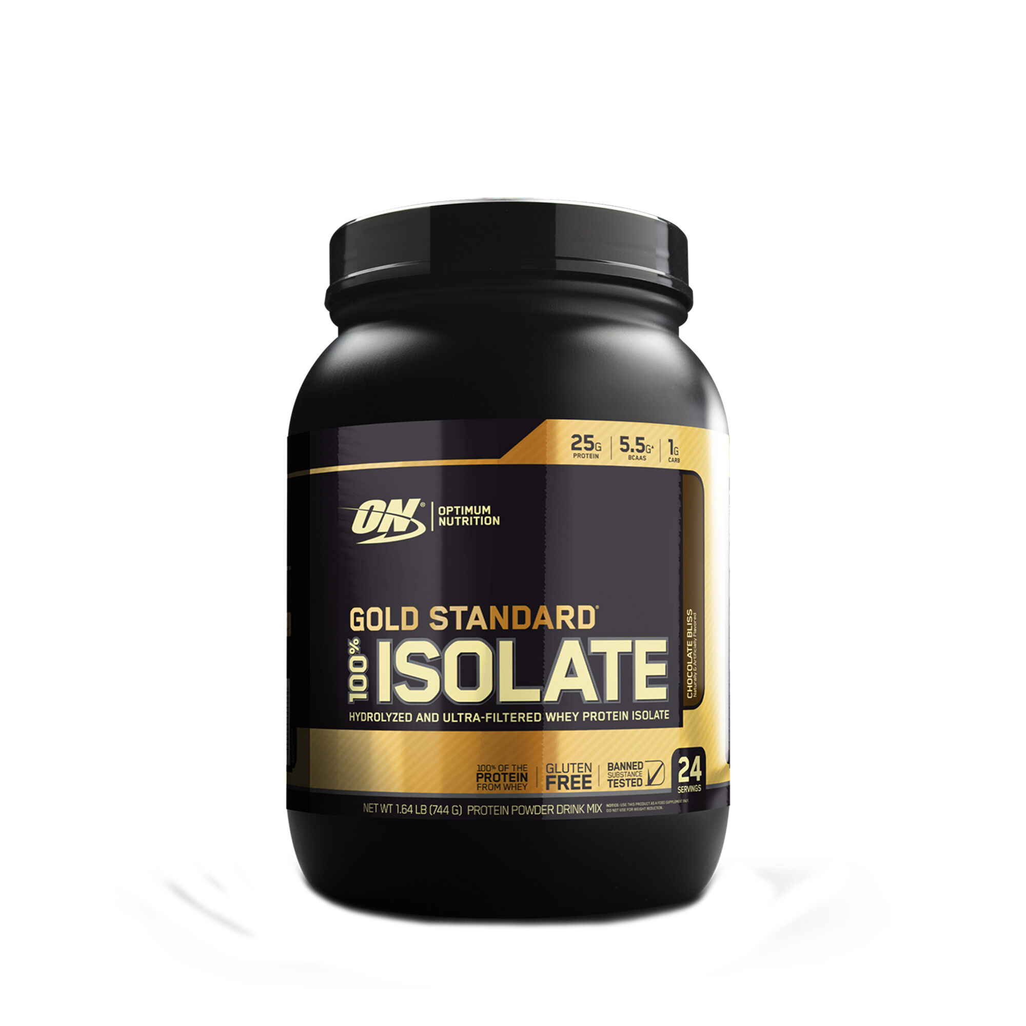 Optimum Nutrition Gold Standard 100 Isolate Chocolate Bliss Gnc