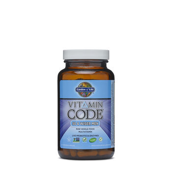 Vitamin Code™ - 50 & Wiser Men | GNC