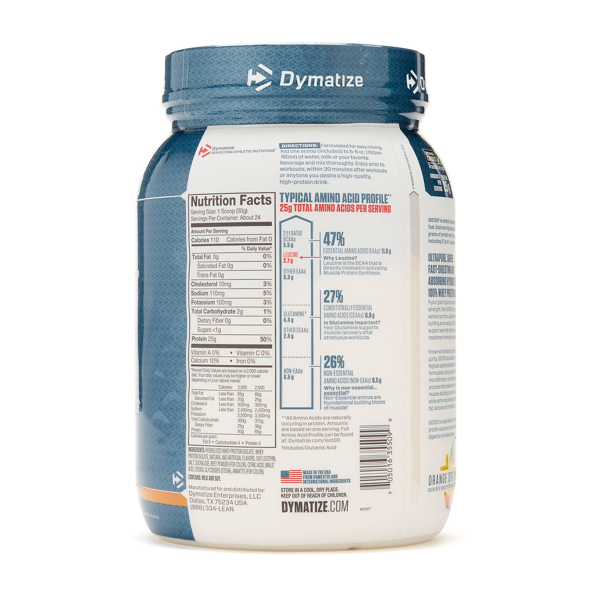 Dymatize Nutrition ISO100 Whey Protein