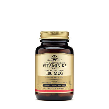 Vitamin K2 MK-7 from Natto Extract 100 mcg | GNC