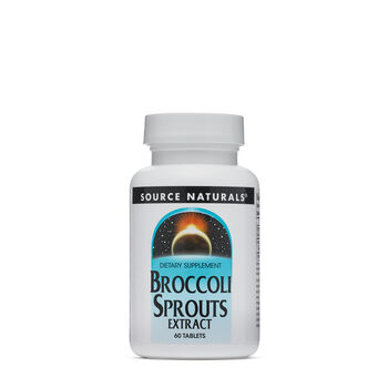 Broccoli Sprouts Standardized Extract | GNC