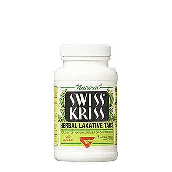 Swiss Kriss® Herbal Laxative Tabs | GNC