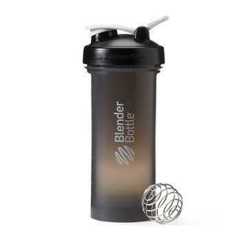 Pro45™ Shaker BottleBlack Cup, Black Lid | GNC