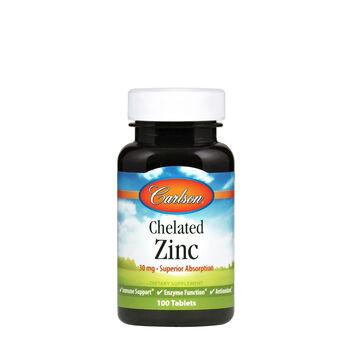 Chelated Zinc   GNC