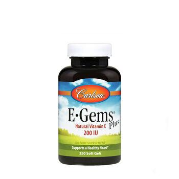 E-Gems® Plus Natural Vitamin E - 200 IU   GNC