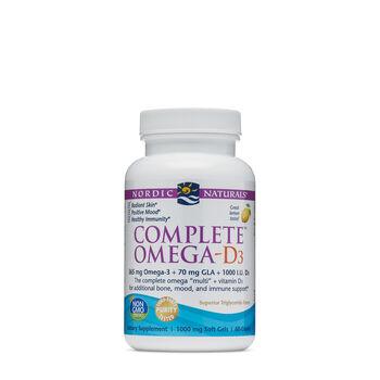 Complete™ Omega-D3 - Lemon | GNC