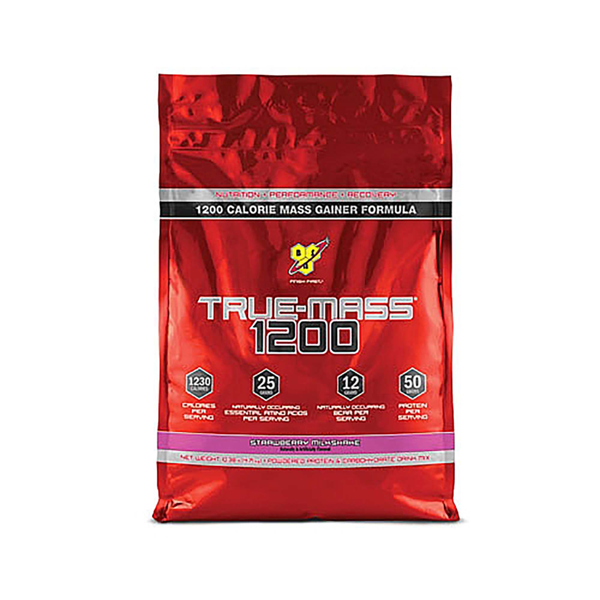 Rørig BSN® True Mass® 1200 - Strawberry Milkshake | GNC SP-65