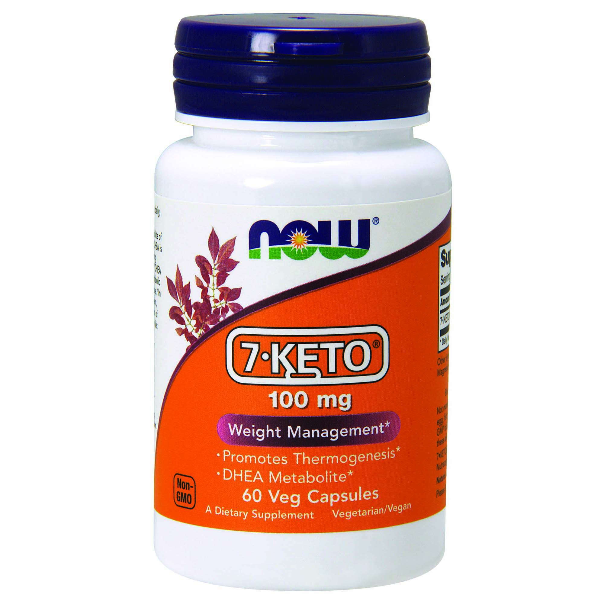 Now 7 Keto Weight Management 100 Mg Gnc