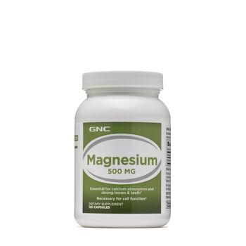 Gnc Magnesium 500mg Gnc Gnc
