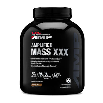 Amplified Mass XXX™ - ChocolateChocolate | GNC