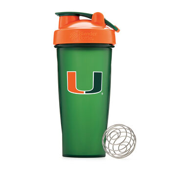 Collegiate Shaker Bottle- U of MiamiU of Miami | GNC