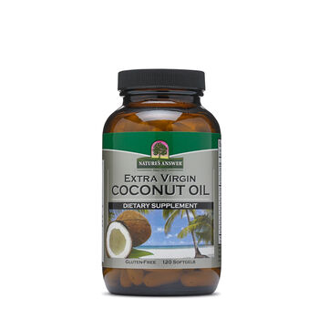 Extra Virgin Coconut Oil | GNC