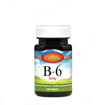 B-6 50 mg   GNC