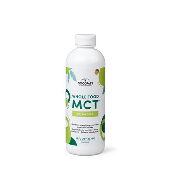 Whole Food MCT™ - Unflavored | GNC
