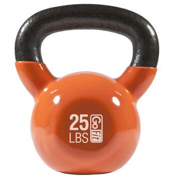 Premium Kettle Bell W/ Introductory Training DVD - 25 LB Orange25 lb - Orange | GNC
