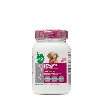 Ultra Mega Hip and Joint Health - Senior Dogs - Beef FlavorBeef Flavor | GNC