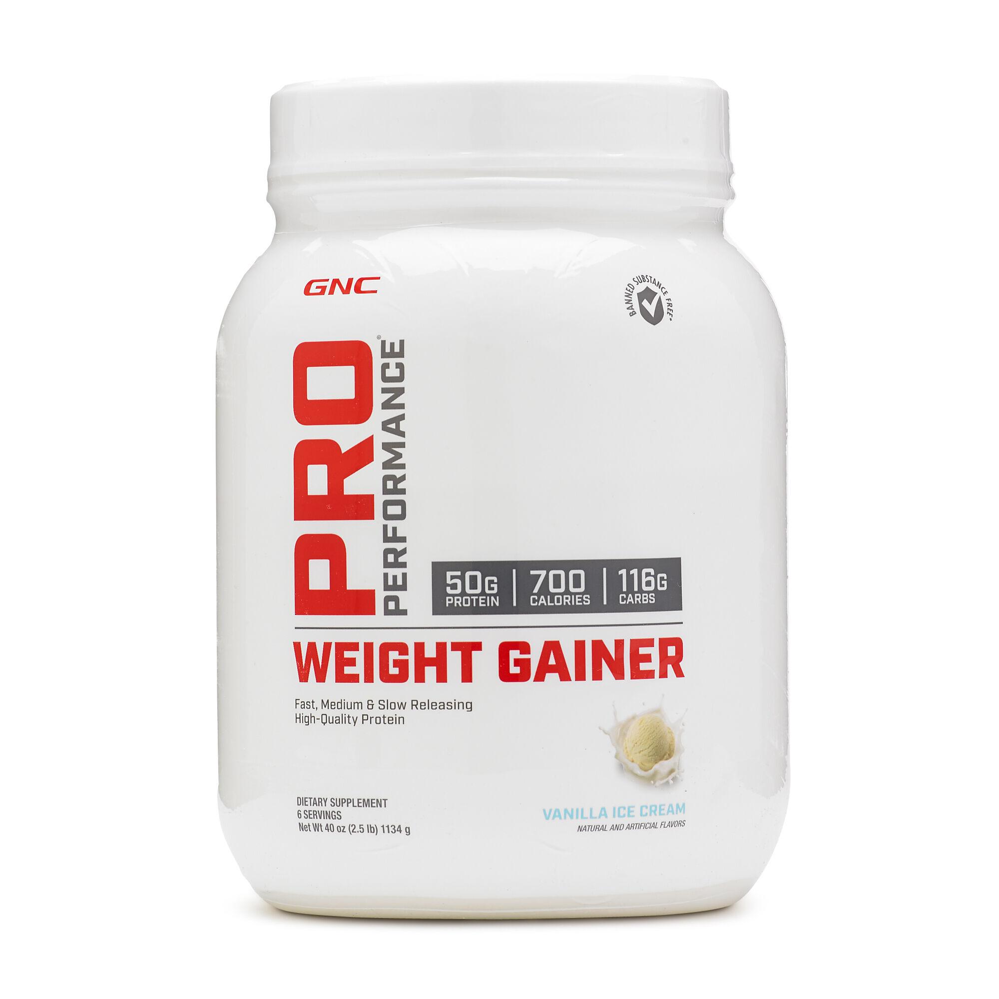 Gnc Pro Performance Weight Gainer Vanilla Ice Cream Gnc
