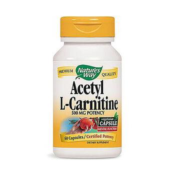 Acetyl L-Carnitine 500mg Potency   GNC