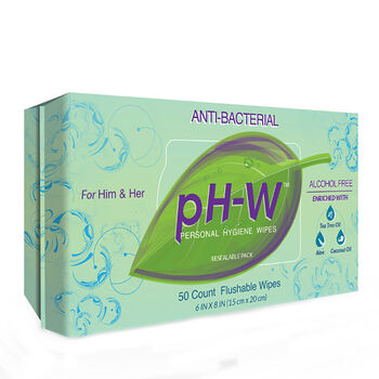 pH-W™ Personal Hygene Wipes | GNC
