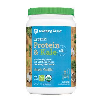 Organic Protein and Kale - Simply VanillaSimply Vanilla | GNC