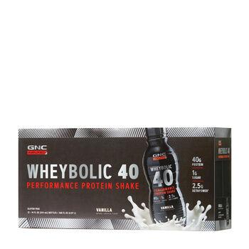 : Amplified Wheybolic 40  - VanillaVanilla | GNC